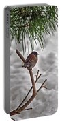 Winter Bird Portable Battery Charger