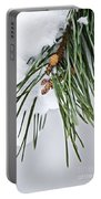 Winter Branches Portable Battery Charger