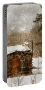 Winter Cabin 2 Portable Battery Charger