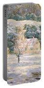 Winter Portable Battery Charger by Ernest Lawson