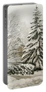Winter Fairytale Portable Battery Charger