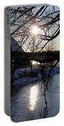 Winter Lake Portable Battery Charger