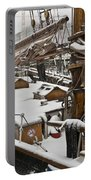 Winter On Deck Portable Battery Charger