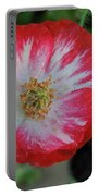 Winter Poppy Portable Battery Charger