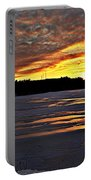 Winter Sunset Iv Portable Battery Charger