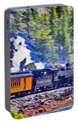 Winter Train Portable Battery Charger