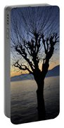 Winter Tree Portable Battery Charger by Joana Kruse