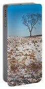 Winter Tree Nachusa Grasslands Portable Battery Charger