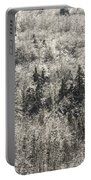 Winter Trees Covered In Ice Portable Battery Charger