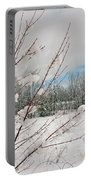 Winter Woods Portable Battery Charger by Joann Vitali