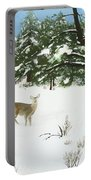 Wintering Whitetails Portable Battery Charger