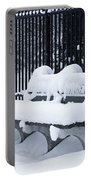 Winter's Quiescence Portable Battery Charger by Dale Kincaid