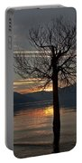 Wintertree In The Evening Portable Battery Charger
