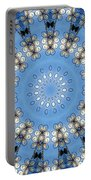 Wire Flowers And Butterflies Portable Battery Charger