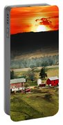 Wisconsin Farm Portable Battery Charger