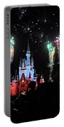 Wishes At The Magic Kingdom Portable Battery Charger