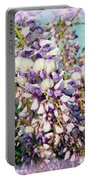 Wispy Wisteria Portable Battery Charger