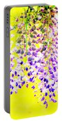Wisteria Abstract Portable Battery Charger