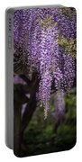 Wisteria Droplets Portable Battery Charger