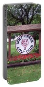 Wolf Creek Golf Club Portable Battery Charger