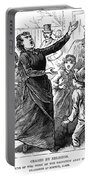 Woman Preaching, 1888 Portable Battery Charger