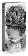 Womans Hat, 1883 Portable Battery Charger