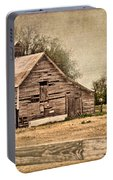 Wood Barn Portable Battery Charger