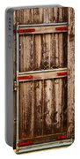 Wood Fence Door Portable Battery Charger
