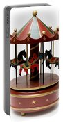 Wooden Toy Carousel Portable Battery Charger