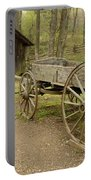 Wooden Wagon Portable Battery Charger