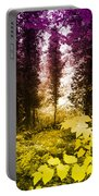 Woodland Color Portable Battery Charger