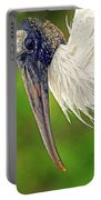 Woodstork Portrait Portable Battery Charger