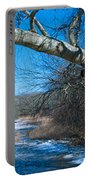 Wordens Pond Winter Portable Battery Charger