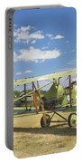 Worl War One 1916 Royal Aircraft F.e.8 Canvas Photo Poster Print Portable Battery Charger