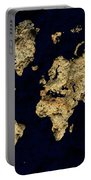 World Map Rock Portable Battery Charger
