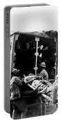 Wounded At The Battle Of Somme - Wwi -- France Portable Battery Charger