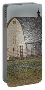 Wrapped Barn Portable Battery Charger