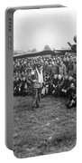 Wwii Artillery Commander Gives Pilots Portable Battery Charger