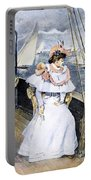 Yachting Costume, 1894 Portable Battery Charger