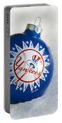 Yankees Ornament Portable Battery Charger