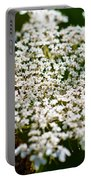 Yarrow Plant Flower Head  Portable Battery Charger