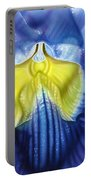 Yellow And Blue Portable Battery Charger