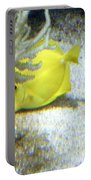 Yellow Angelfish Portable Battery Charger