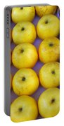 Yellow Apples Portable Battery Charger