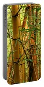 Yellow Bamboo Portable Battery Charger