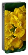Yellow Blooms Portable Battery Charger