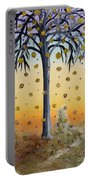 Yellow-blossomed Wishing Tree Portable Battery Charger