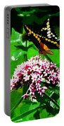 Yellow Butterfly  Portable Battery Charger