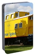 Yellow Caboose Portable Battery Charger