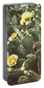 Yellow Cactus Portable Battery Charger